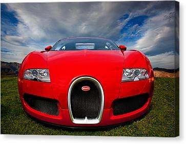 Bugatti Veyron Canvas Print by Peter Tellone