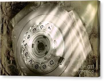 Bugged Retro Telephone Canvas Print by Jorgo Photography - Wall Art Gallery