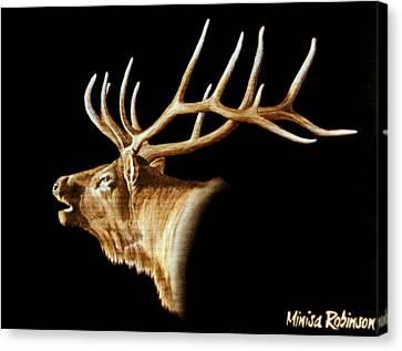 Bugle Canvas Print by Minisa Robinson