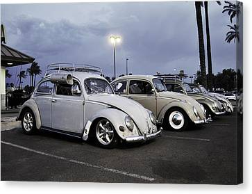 Bugs Night Out Canvas Print by Rob Weisenbaugh