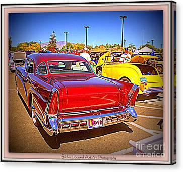 Buick Classic Canvas Print by Bobbee Rickard