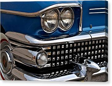 Buick Classic Canvas Print by Frozen in Time Fine Art Photography