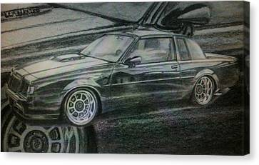 Buick Grand National Canvas Print