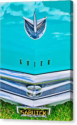 Buick Grill Canvas Print by Phil 'motography' Clark