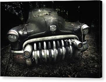 Abandoned Cars Canvas Print - Buick by Holger Droste