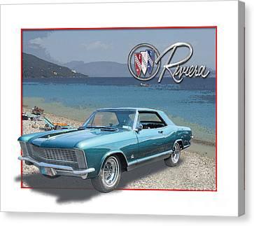 Buick Riviera At The Riviera Canvas Print