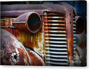 Buick Rust Canvas Print by Paul Ward