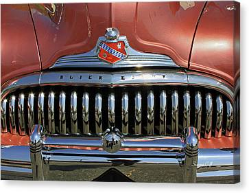 Buick Super Eight Canvas Print by Suzanne Gaff