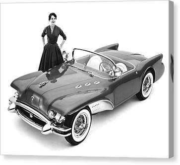 Buick Wildcat II Concept Car Canvas Print by Underwood Archives