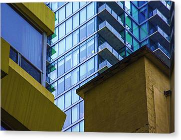 Building Abstract No.1 Canvas Print by Raymond Kunst