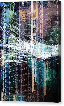 Building Boom Canvas Print by John Fish
