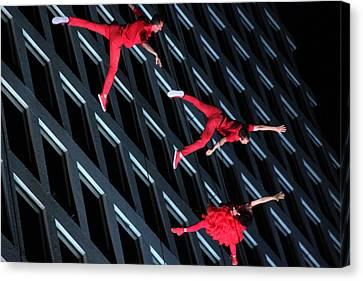 Building Dancers  Canvas Print