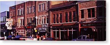 Downtown Nashville Canvas Print - Buildings Along A Street, Nashville by Panoramic Images