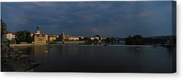 Buildings At The Waterfront, Charles Canvas Print by Panoramic Images