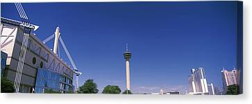 Buildings In A City, Alamodome, Tower Canvas Print by Panoramic Images