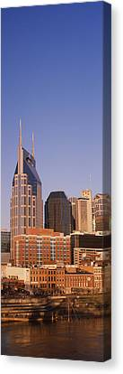 Buildings In A City, Bellsouth Canvas Print