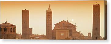 Buildings In A City, Bologna, Italy Canvas Print by Panoramic Images