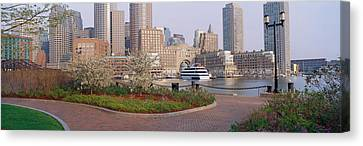 Buildings In A City, Boston Canvas Print by Panoramic Images