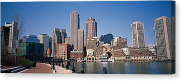 Buildings In A City, Boston, Suffolk Canvas Print by Panoramic Images