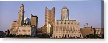Franklin Canvas Print - Buildings In A City, Columbus, Franklin by Panoramic Images