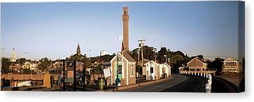 Buildings In A City, Provincetown, Cape Canvas Print by Panoramic Images