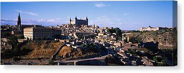 Buildings In A City, Toledo, Toledo Canvas Print by Panoramic Images