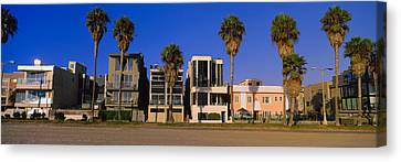 Venice Beach Palms Canvas Print - Buildings In A City, Venice Beach, City by Panoramic Images
