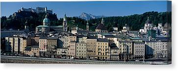 Buildings In A City With A Fortress Canvas Print by Panoramic Images