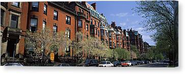 Buildings In A Street, Commonwealth Canvas Print