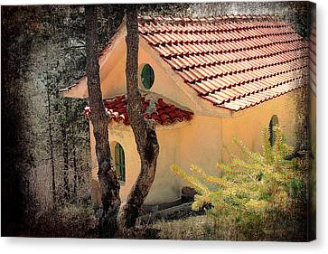 Built In A Forest Canvas Print by Milena Ilieva