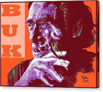Buk  Canvas Print