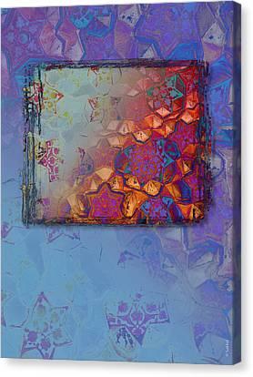 Bukhara Glow Canvas Print