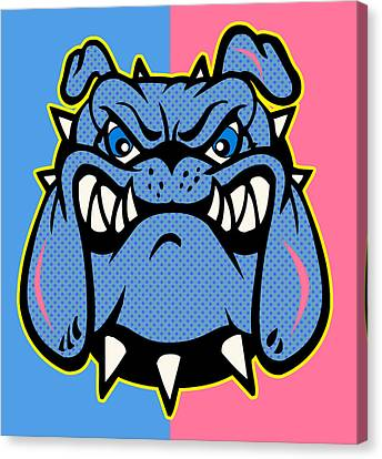 Bulldog 5 Canvas Print by Mark Ashkenazi