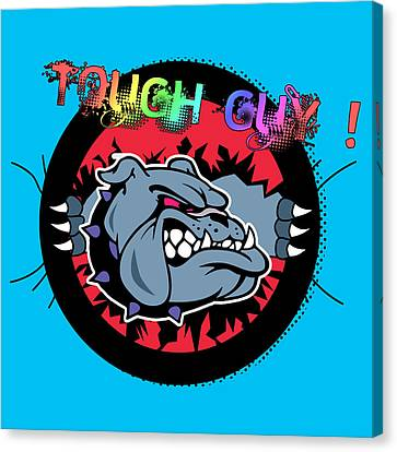 Bulldog 6 Canvas Print by Mark Ashkenazi