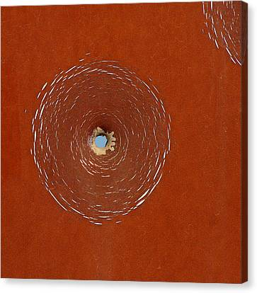 Bullet Hole Patterns Canvas Print by Art Block Collections