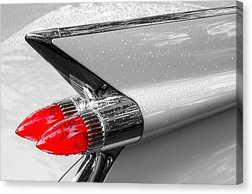 Bullet Tail Lights Canvas Print by Jim Hughes