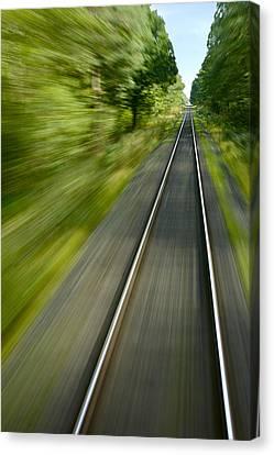 Bullet Train Canvas Print