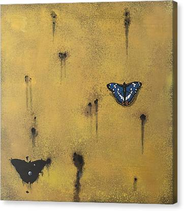 Bullets And Butterflys Canvas Print