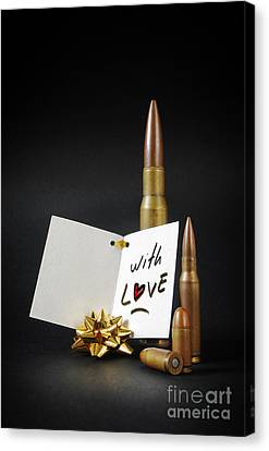 Bullets For You Canvas Print