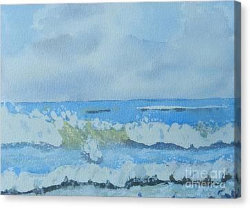 Bulli Beach Canvas Print by Pamela  Meredith