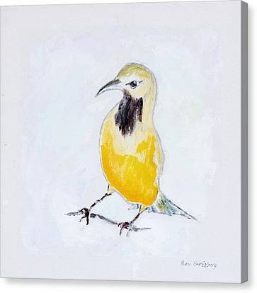 Bullock's Oriole No 2 Canvas Print by Ben Gertsberg