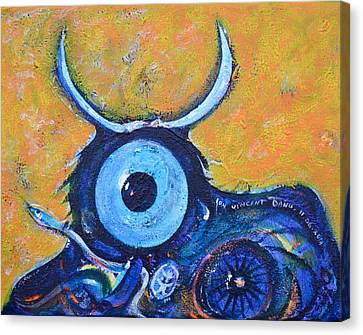 Bull's Eye Canvas Print by Ion vincent DAnu