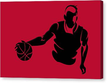 Bulls Shadow Player1 Canvas Print by Joe Hamilton