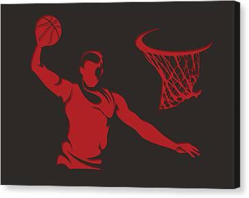 Bulls Shadow Player2 Canvas Print by Joe Hamilton