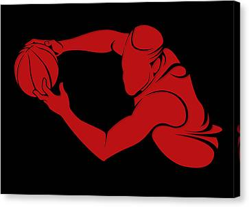 Bulls Shadow Player3 Canvas Print by Joe Hamilton