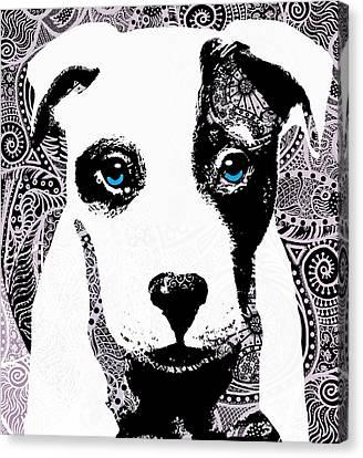 Bully Canvas Print by Cindy Edwards