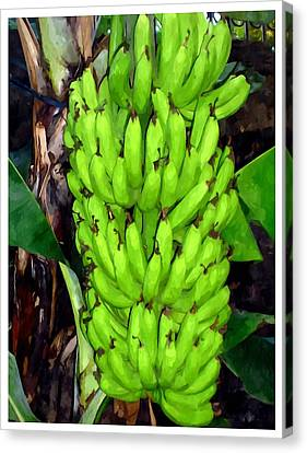 Bunch Of Bananas Canvas Print by Lanjee Chee