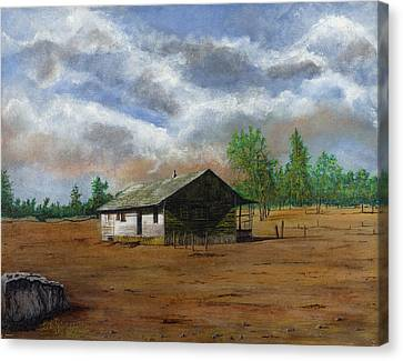 Bunk House Cheyenne Wy Canvas Print by Stuart B Yaeger