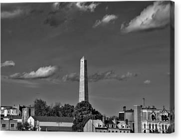 Bunker Hill Monument 4 Canvas Print by Joann Vitali