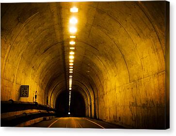 Sausalito Canvas Print - Bunker Road Tunnel by SFPhotoStore